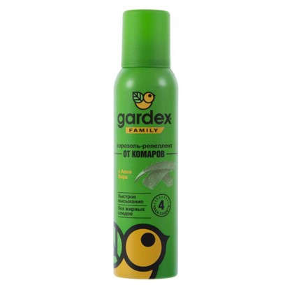 Аэрозоль от комаров Gardex Family 150 мл цена