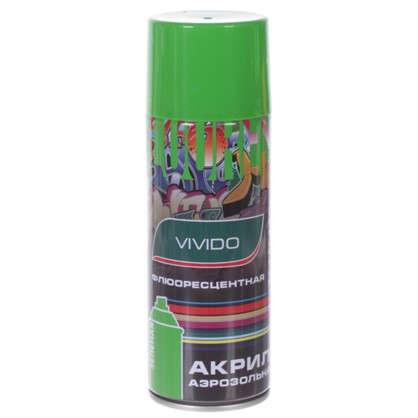 Аэрозоль Vivido флюоресцентная цвет зеленый цена