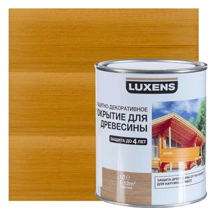Антисептик Luxens цвет клен 1 л