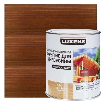 Антисептик Luxens цвет махагон 1 л