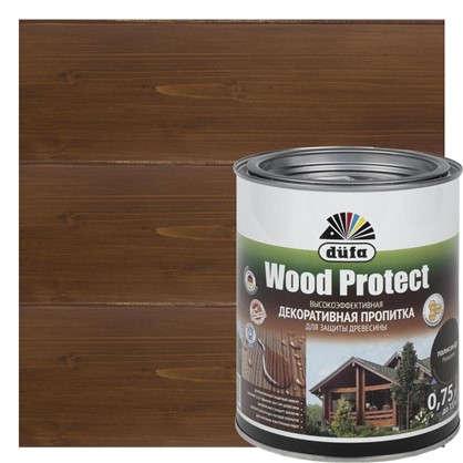 Антисептик Wood Protect цвет палисандр 0.75 л цена