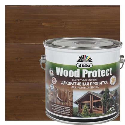 Антисептик Wood Protect цвет палисандр 2.5 л
