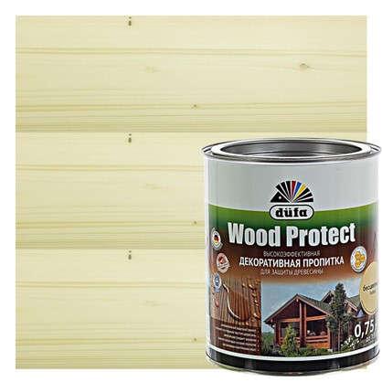Антисептик Wood Protect прозрачный 0.75 л цена