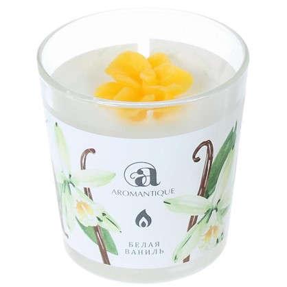 Ароматизированная свеча Белая ваниль