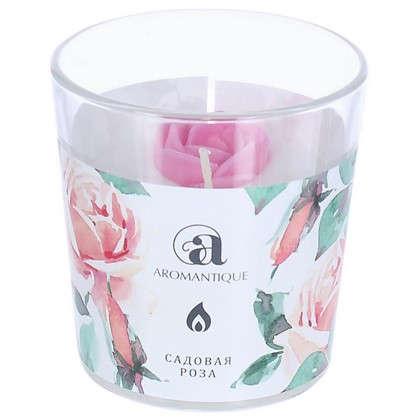 Ароматизированная свеча Садовая роза цена