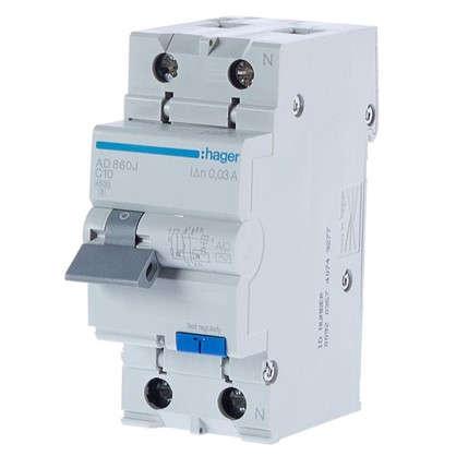 Дифференциальный автомат Hager 1 полюс 10 А