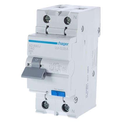 Дифференциальный автомат Hager 1 полюс 40 А цена