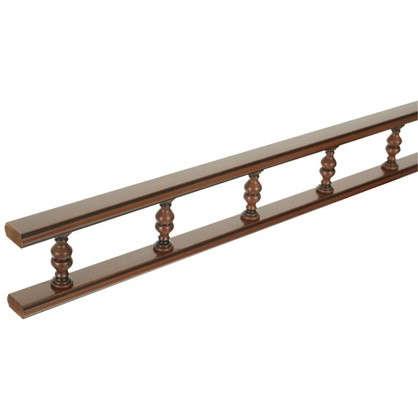 Балюстрада прямая Прованс 200 см цвет коричневый