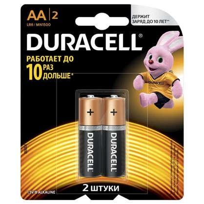 Батарейка алкалиновая Duracell Basic АА 2шт.