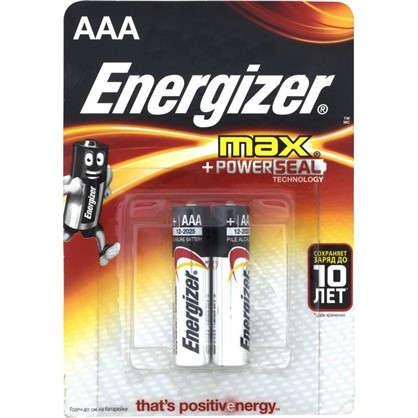Батарейка алкалиновая Energizer Max AAA/LR03 2 шт.