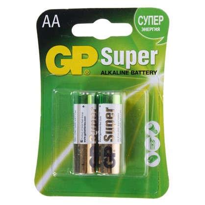 Батарейка алкалиновая GP 15AA 2 шт.