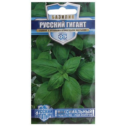 Базилик зелёный Русский гигант цена