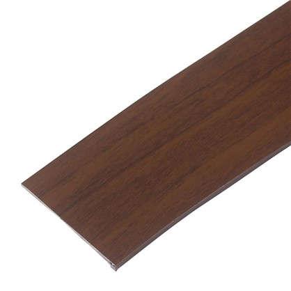 Бленда для пластикового карниза 250 см пластик цвет темный орех цена