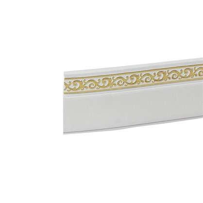 Бленда Флора пластик цвет белый глянец цена