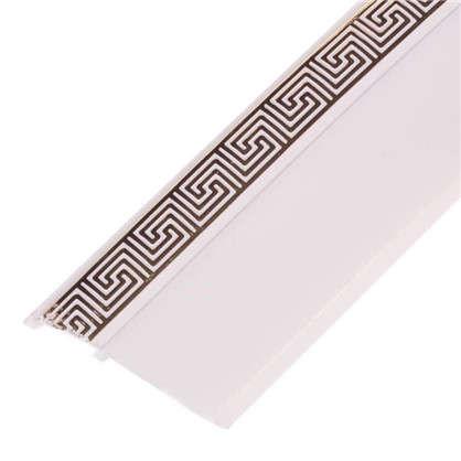Бленда Греция пластик цвет белый глянец цена