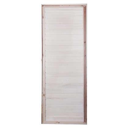 Блок дверной деревянный 50x700х1900 мм осина цена