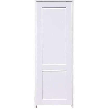 Блок дверной глухой Акваплюс 80x200 см ПВХ с фурнитурой цена