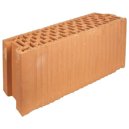 Блок керамический Porotherm 120x219x500 мм в