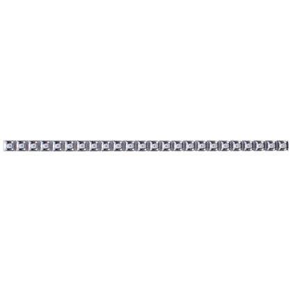 Бордюр Бусинки 10х250 мм цвет платиновый цена