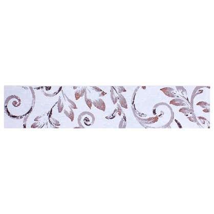 Бордюр Флориан 40х8.4 см цвет белый цена