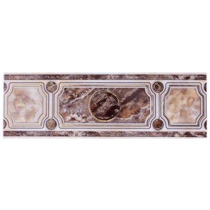 Бордюр Pietra 7.5x23 см цвет коричневый цена