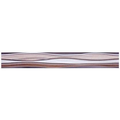 Бордюр Плессо БД53ПЛ406 50х6.7 см цвет коричневый