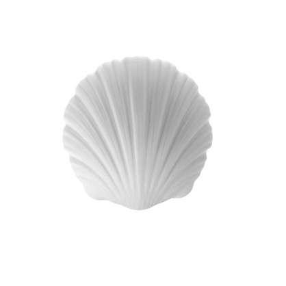 Бра Афродита 1xE27x100 Вт 28 см металл/стекло цвет хром/белый