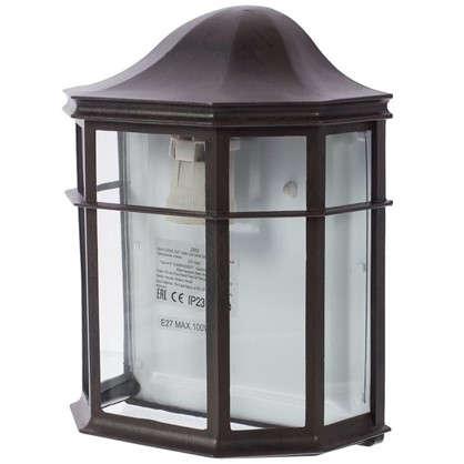 Бра Florac 1xE27х100 Вт стекло цвет черный цена