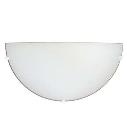 Бра Лайт Мини 1xE27x60 Вт металл/стекло цвет хром/белый