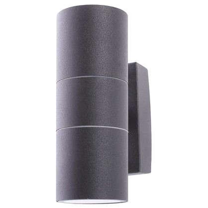 Бра уличное Mistero 2хGU10х35 Вт IP44 цвет черный металлик