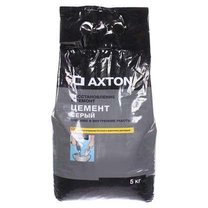 Цемент Axton 5 кг цвет серый в