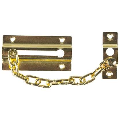 Цепочки дверные 60х110 мм цвет золото цена