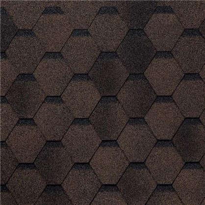 Черепица гибкая Mida Прима цвет коричневый