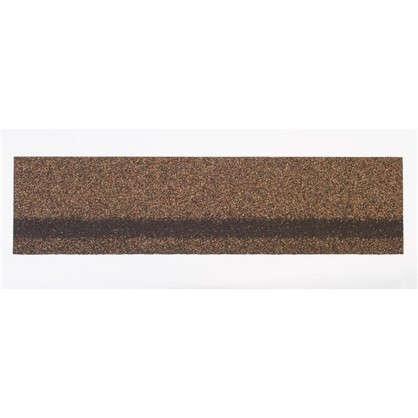 Черепица коньково-карнизная Технониколь цвет светло-коричневый цена