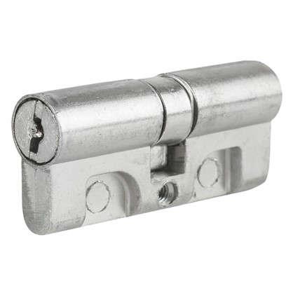 Цилиндр ключ/ключ 30х30 хром МЦ1-6