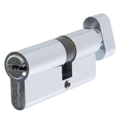 Цилиндр ключ/вертушка 30х40 хром C BK CP