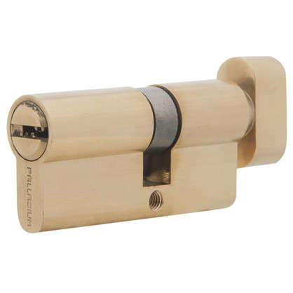 Цилиндр ключ/вертушка 30х40 золото C BK PB цена
