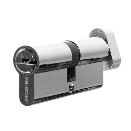 Цилиндр ключ/вертушка 40х40 бронза 80 C BK CP цена
