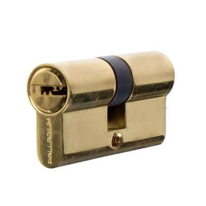 Цилиндр Palladium Palladium 2J07 60 30х30 мм ключ/ключ цвет золото цена