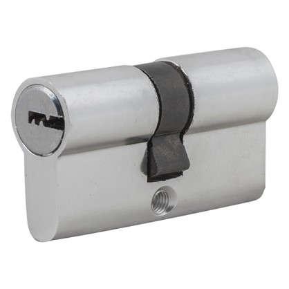 Цилиндр Standers 60 30x30 мм ключ-ключ цвет хром цена