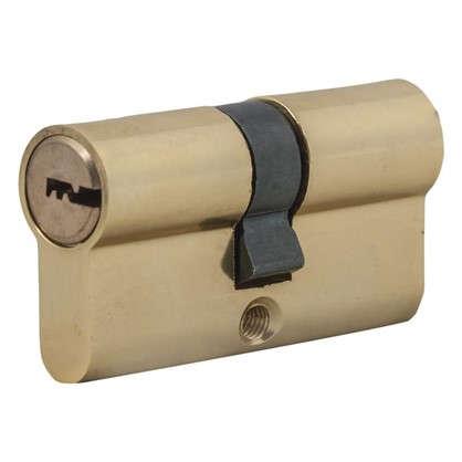 Цилиндр Standers 60 30x30 мм ключ-ключ цвет золото цена