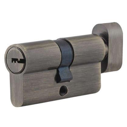 Цилиндр Standers 60 30x30 мм ключ-вертушка цвет бронза