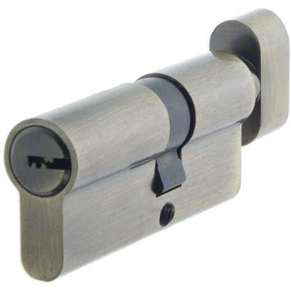 Цилиндр Standers 70 30x40 мм ключ-вертушка цвет бронза цена