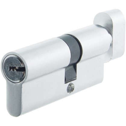 Цилиндр Standers 70 30x40 мм ключ-вертушка цвет хром цена