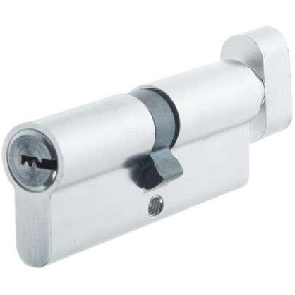 Цилиндр Standers 80 40x40 мм ключ-вертушка цвет хром цена