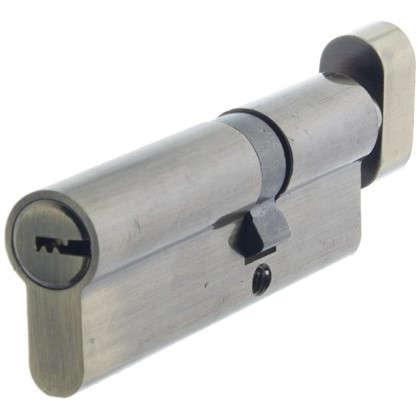 Цилиндр Standers 90 35x55 мм ключ-вертушка цвет бронза цена