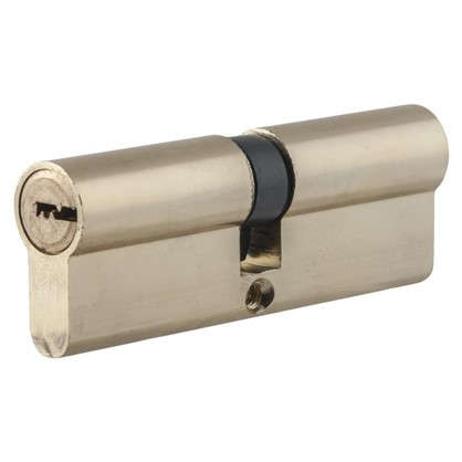 Цилиндр Standers 90 45x45 мм ключ-ключ цвет золото