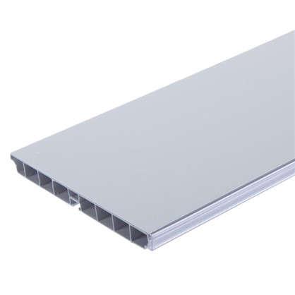 Цоколь 300х15 см ПВХ цвет белый цена