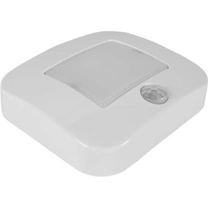 Датчик движения-светильник Nightlux Osram LED 0.3 Вт цвет белый IP 54 цена