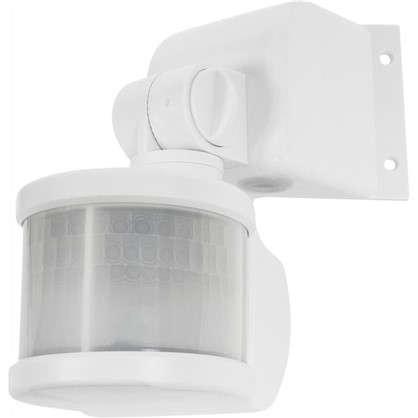 Датчик движения угловой 270 градусов 1100 Вт цвет белый IP44 цена